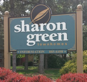 Sharon Green sign